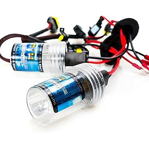 FULLModerna lampadina dell'automobile 12V HID Xenon 55W H11 faro del rimontaggio 8000K