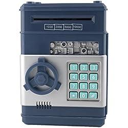 Hucha electrónica ahorro de dinero, Caja de Seguridad Contraseña banco para monedas y billetes