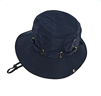 568eaa0cddf JUNGEN Bucket Hat Boonie Cap for Men Neck Flap Cover Fishing Cycling ...