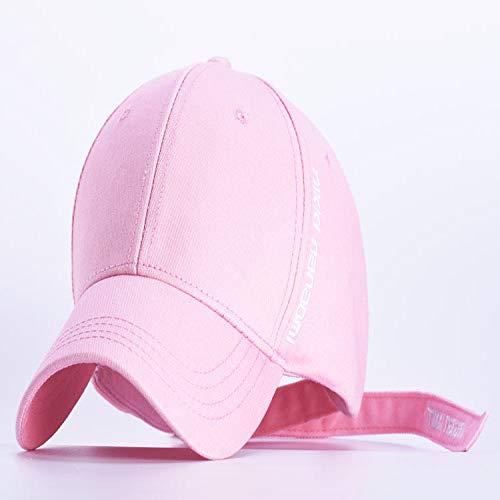 woyaochudan Baseballmütze Sommer Dame Männer Einstellbare Gebogene Kappe Hut Stickerei Outdoor Sonnenhut 6 Mt (56-58 cm)