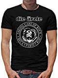 Die Ärzte - Taking Care of Rock T-Shirt Herren XXL Schwarz