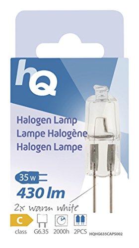 HQ Halogen-Stiftsockel G6,35 35 W, 430 lm, 2,800K HQHG635CAPS002 - 5