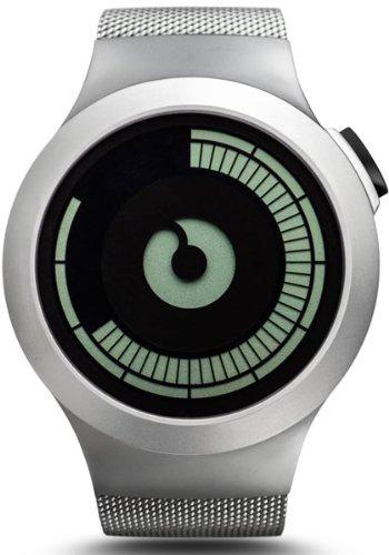 Ziiiro Saturn Chrome Design Digital Uhr Herrenuhr - Chrome Digital Uhr