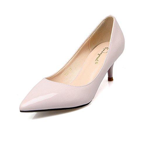 Rosso scarpe matrimonio punta bassa e donne singoli belle scarpe con 5 cm di carriera della donna scarpe singole The Purple