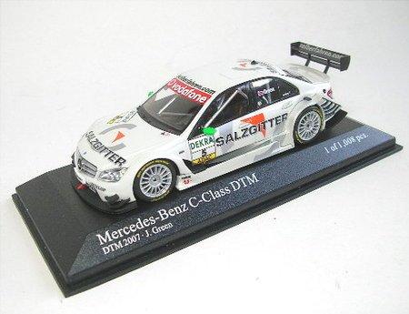 Minichamps 400073705 ? Mercedes C-Klasse Deutsche Tourenwagen-Master 2007 Green ? 1/43 Preisvergleich
