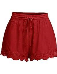 8ed420827a4dc Fancylande Shorts – Pantalón Corto Pantalones décontractée