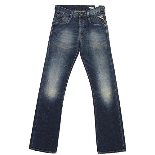 Replay, Herren Jeans Hose, Jimi Boot,Denim,blue used [18380] Blue Used