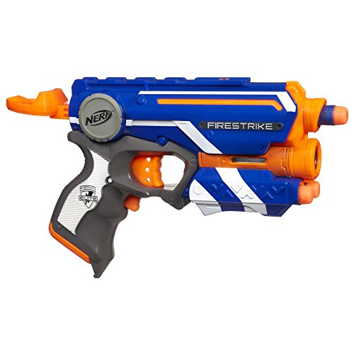 Funskool Nerf N-Strike Elite Firestrike Blaster (Color May Vary)