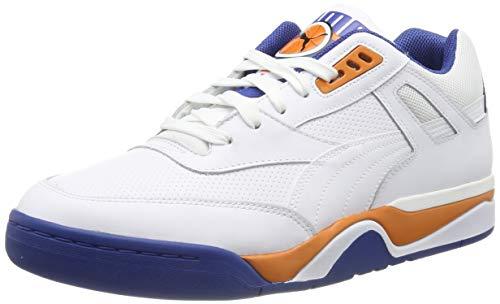 Puma Unisex-Erwachsene Palace Guard Sneaker, (White-Jaffa Orange-Galaxy Blue 05), 5 EU (Sneaker Guard)