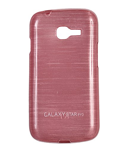 iCandy Soft TPU Shiny Back Cover For Samsung Galaxy Star Pro S7260/S7262 - Pink  available at amazon for Rs.109
