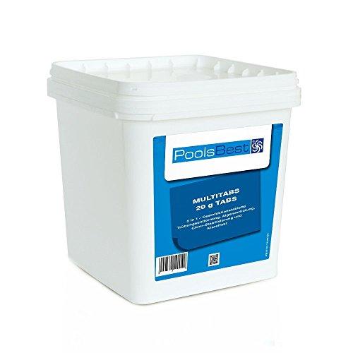5 Kg - PoolsBest® Mini - Multitabs 5 in 1, 20 g Tabletten -