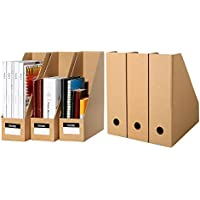 TIANSE Set de archivador de Papel – 6 unidades – El perfecto organizador de papeles para periódicos, revistas – Revistero de Papel