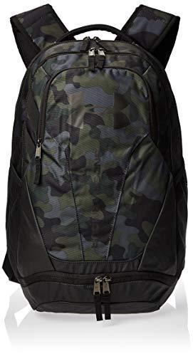 Under Armour strapazierfähiger Reiserucksack mit Laptopfach, wasserabweisender Laptop Rucksack mit viel Platz UA Hustle 3.0, Braun, OSFA