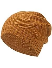 YN Cappello di Lana Femminile Autunno e Inverno Spessa lanuginoso Caldo  Orecchio Protezione Sci Antivento Cappello bbf2096be9ec