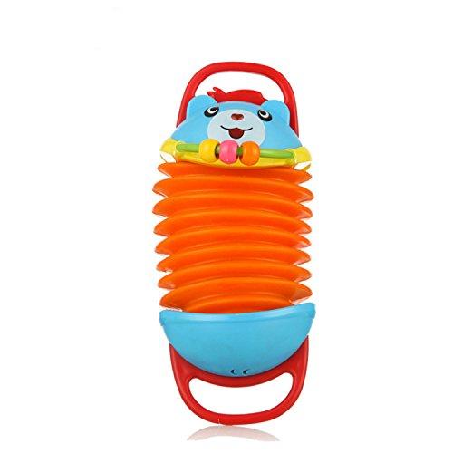 SODIAL Orff Instruments Kleinkinder Spielzeug Kleines Akkordeon Puzzle Kinder Bildung Musikinstrumente