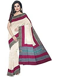 Sakhi Womens Blended Tussar Saree_IMR-2387_Multi-coloured_Free Size