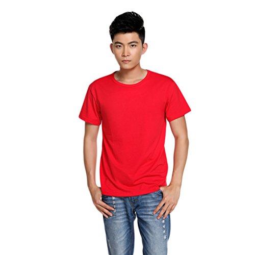 MTTROLI Herren T-Shirt Rot