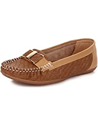 Trase Tulip Flat Loafers / Bellies for Women
