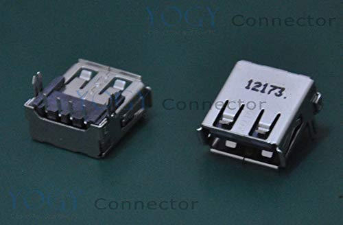 Ochoos 10 x Laptop- und AIO-USB-Buchse für Dell N4050 N4040 M4040 Vostro 1440 2421 Inspiron 1440 2020 Serie