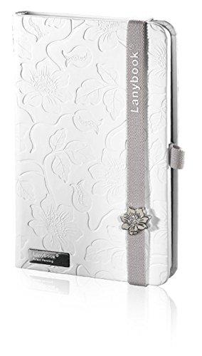 innocent-passion-white-lanybook-notizbuch-a6-kariert-inklusive-froschtasche-hardcover-192-seiten-wei