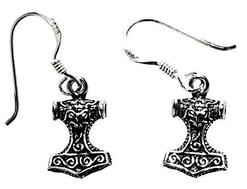 Martello di Thor orecchini in argento Sterling 925, n. 5