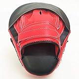 AMhuui MMA Boxing Mitts Fokus Schlags-Auflage, Boxen Curved Stanzen Trainingshandschuhe Hand Ziel Für Muay Thai Pads Kickbox Streik Kampfsport Shield Box