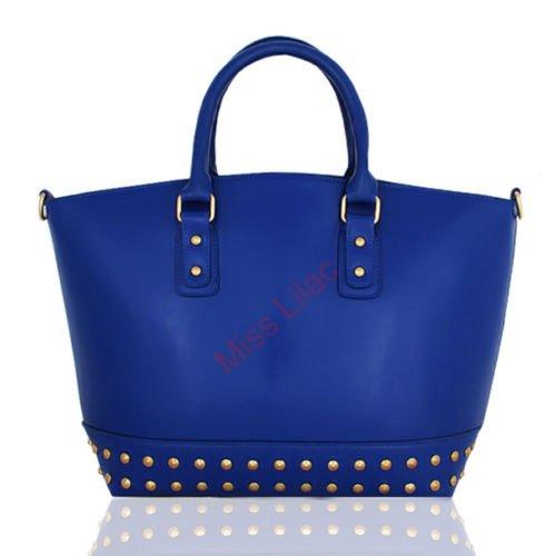 Miss Lilac, Borsa a spalla donna (x1251-Blue)