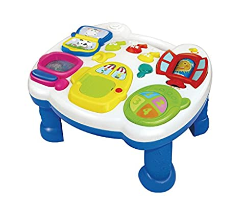 Early Education 18 Months Baby Musical Learning Table Laugh & Fun Electronic Education Toys For Children & Kids Boys and