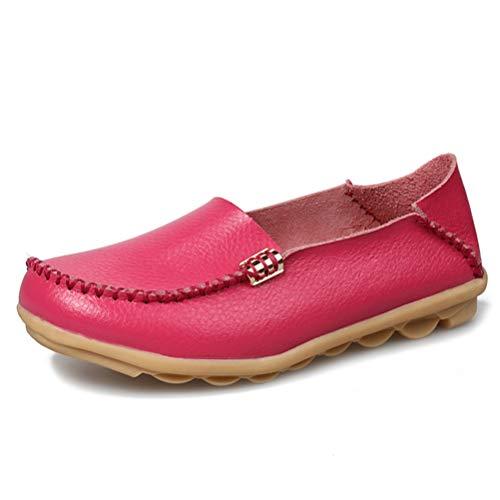 Mode Lässig Mokassins Slip on Wohnungen Frauen Atmungsaktive Weiche Mokassins Schuhe Frauen Wohnungen Schuhe ()