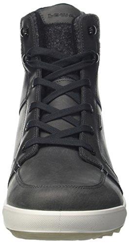 Lowa Molveno Gtx Mid, Chaussures de Randonnée Homme, Vert Gris (Anthrazit)
