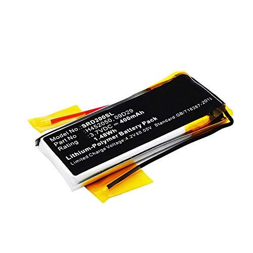 subtel® Qualitäts Akku kompatibel mit Cardo Scala Rider Teamset Pro, Scala Rider Multiset Q2-09D29,H452050 (400mAh) Ersatzakku Batterie