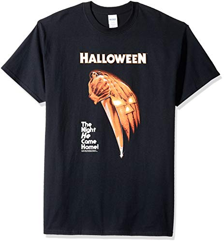 Impact Herren T-Shirt Halloween Night He Came Home - Schwarz - XX-Large