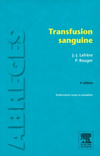 Transfusion sanguine: POD