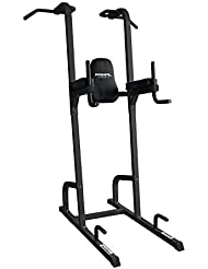 Primal Strength Stealth Primaire Fitness menton/Dip Power Tower Mat Nero
