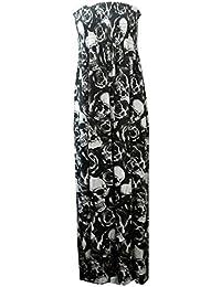Maison de la mode Fille Maxi robe bandeau Imprimé–Différents x