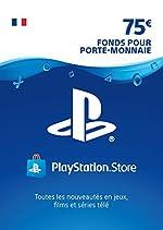 Carte PSN 75 EUR - Compte français | Code PSN à télécharger