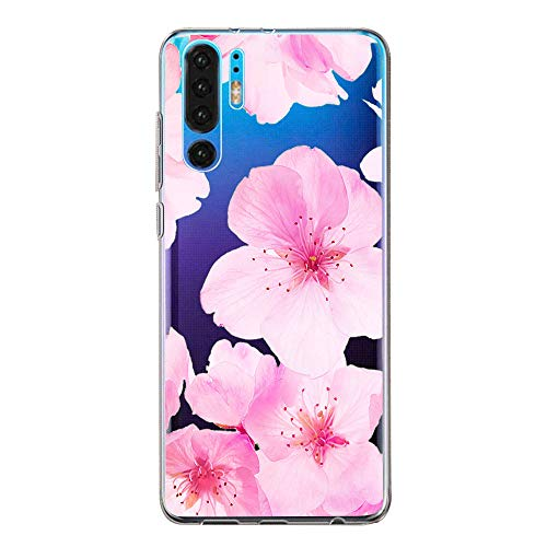 Hülle Case Kompatibel für Huawei P30 Handyhülle,Huawei P30 Pro Schutzhülle Ultradünn Transparent Silikon Soft TPU Crystal Clear Bumpe Schutzhülle für Huawei P30 Lite (3, Huawei P30 Lite) -