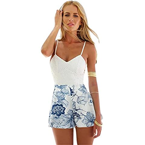 Loveso-Women Clothes - Combinaison - Femme - blanc - 42
