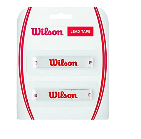 Wilson LEAD TAPE Ruban de plomb pour raquettes de