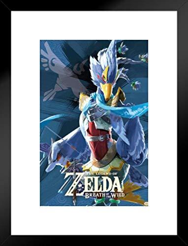 Pyramid America Legend Zelda Atem die Wild VAH medoh Video Gaming mattierte gerahmtes Poster 50,8x 66cm