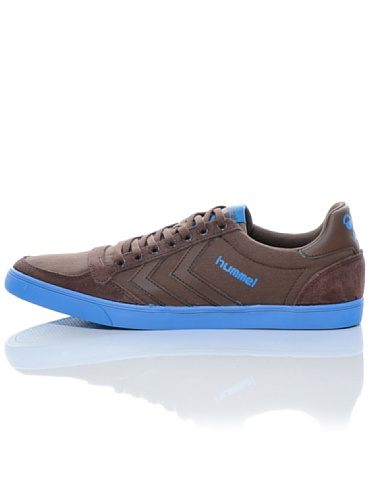 Hummel , Sneakers Basses mixte adulte Marron - Marrón/Azul