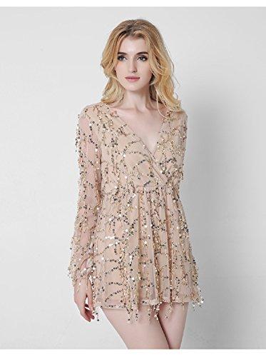 Xizi Sexy Abend-Partei-Abschlussball-Kleid-formales Brautjunfer-Cocktail-Chiffon- (Kleid Für Verkauf 1920)