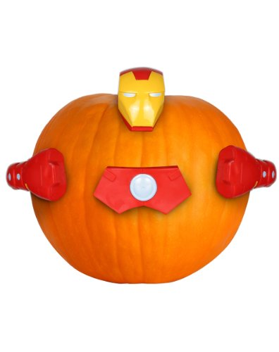 Marvel Pumpkin Push-Ins, Iron Man