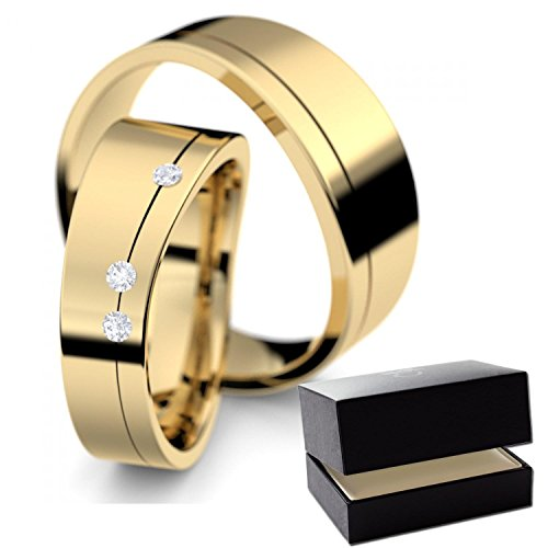 Eheringe / Trauringe Gold Diamanteheringe