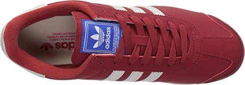 Adidas Samoa Cuir Baskets Mystery Red Talc Satellite
