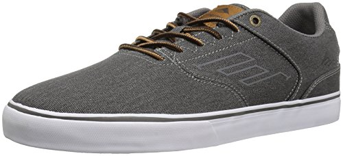 Emerica The Reynolds Low Vulc, Chaussures de skateboard homme BLACK WASH