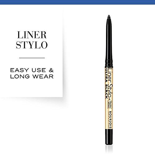 Bourjois Liner Stylo Pencil and Eyeliner 61, Ultra Black