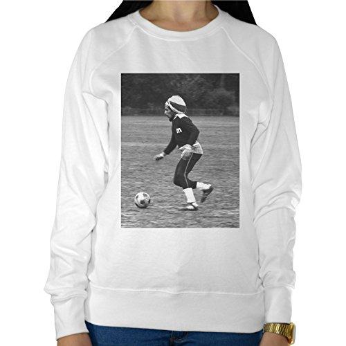 Felpa Leggera Donna Bob Marley Gioca A Pallone Play Soccer