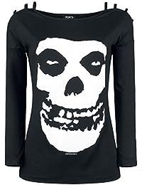 Misfits Skull Manches Longues Femme noir