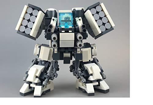 Modbrix Avatar AMP Suit Bausteine Roboter passend für Minifiguren, 338 teiliges Bausteine Konstruktionsspielzel